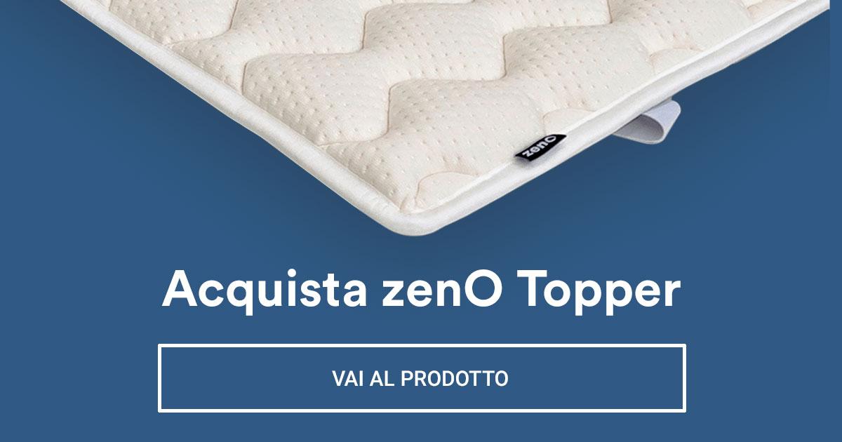 Aumenta il comfort del tuo materasso grazie a zenO topper