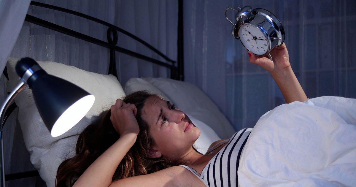 L'ansia influenza il nostro sonno