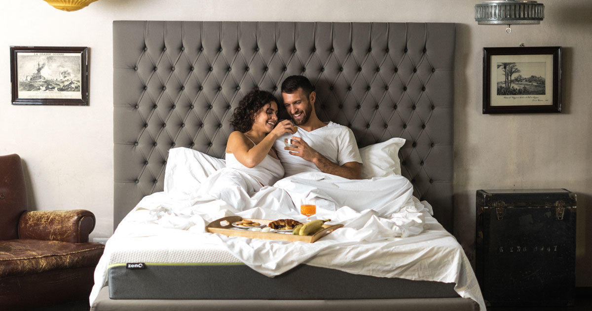 La salute del tuo riposo parte… dalla fodera del materasso
