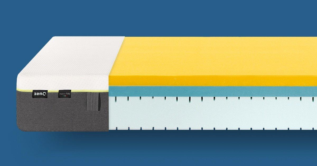 zenO Materasso - il materasso memory 40 volte più traspirante