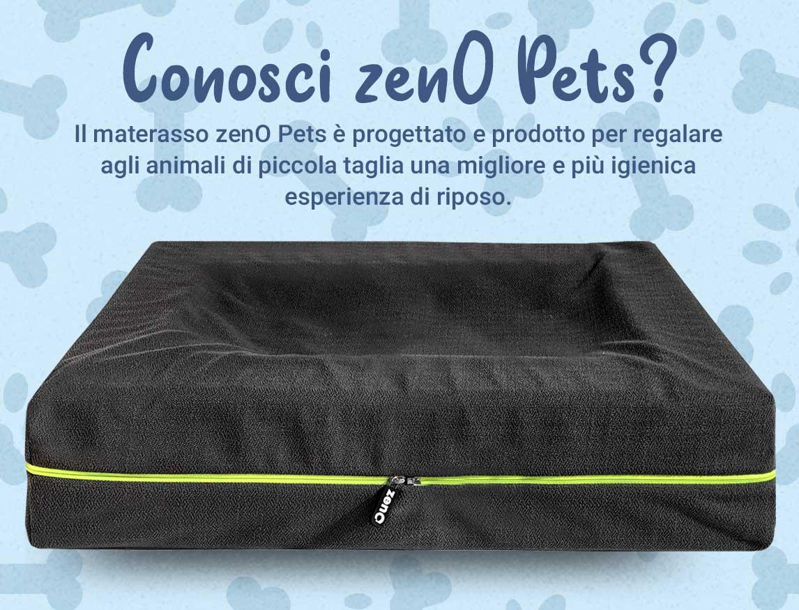 zeno pets è il materassino per cani e gatti con effetto cuccia
